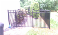 Fence Gallery Photo - Custom Aluminum Fence 3'' spacing 1.jpg
