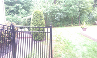 Fence Gallery Photo - Custom Aluminum fence 3'' spacing 2.jpg