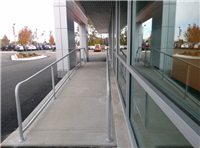 Fence Gallery Photo - Aluminum Pipe Rail at Ramp 5.jpg