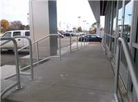 Fence Gallery Photo - Aluminum Pipe Rail at Ramp.jpg