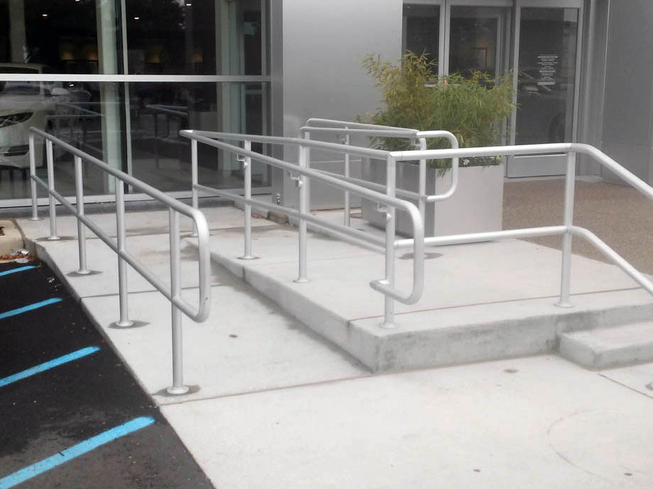 commercial railings example