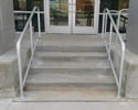 custom built commercial railings