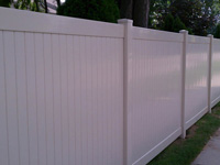 Add style and security to your yard with Add style and security to your yard with the Louisville vinyl privacy fence from Weatherables. Featuring a unique double scalloped topper the Louisville vinyl privacy fence will add value to your home for decades to come.